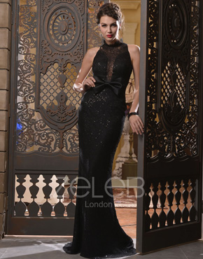 Sequin Evening Dress 1021