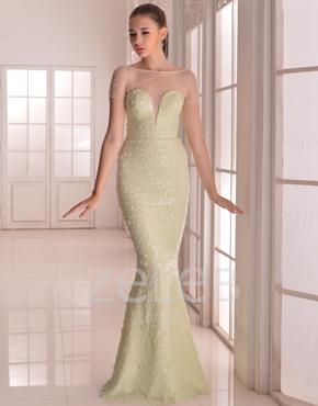 Embellished Tulle Dress 1109