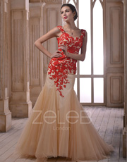 Lace Evening Dress 1001 Custom Size