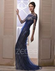 Chantilly Lace Evening Dress 1013