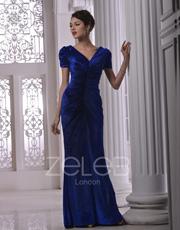 Velvet Evening Dress 1017