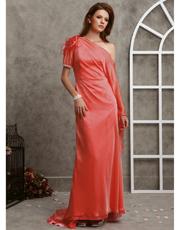 Dropped Shoulder Long Dress 0705