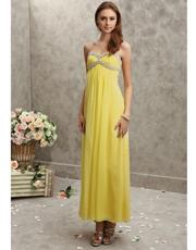 Embellished Chiffon Dress 0708