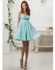 Embellished Silk Dress 0709