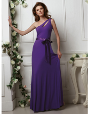 Jersey Full Length Dress 0713