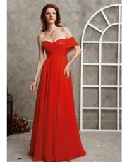 One Shoulder Full Length Dress 0721
