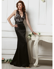 Lace Full Length Dress 0727