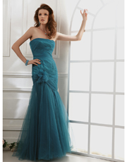 Tulle Full Length Dress 0729