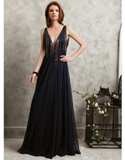 Embellished Full Length Dress 0732