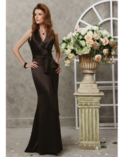 Classical Silk Dress 0733