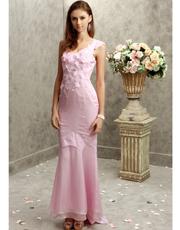 Flower Embellished Dress 0739