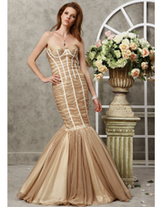 Mermaid Light Chiffon Dress 0747