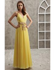 Embellished Chiffon Dress 0755