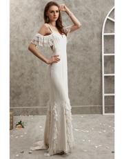 Embellished Silk Dress 0758