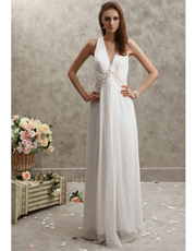 Shell Light Chiffon Dress 0759