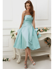 Tea Length Dress 0770