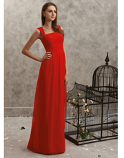 Full Length Chiffon Dress 0773