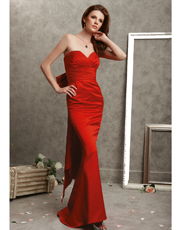 Strapless Full Length Dress 0782