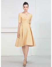 Sleeved Dress 0810