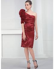 Single Shoulder Dress 0827