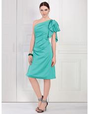 Single Shoulder Dress 0851