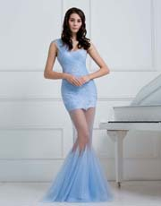 Tulle Mermaid Dress 0909