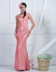 Sequin Full Length Dress 0913