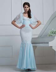 Lace Mermaid Dress 0926ST